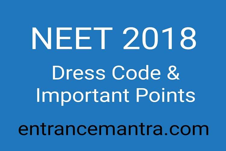 NEET-2018-dres-code